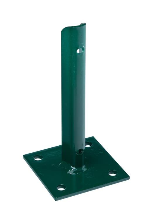 Staffa porta palo 34 mm 636623000000 Colore Verde Taglio L: 10.0 cm x P: 10.0 cm x A: 20.0 cm N. figura 1