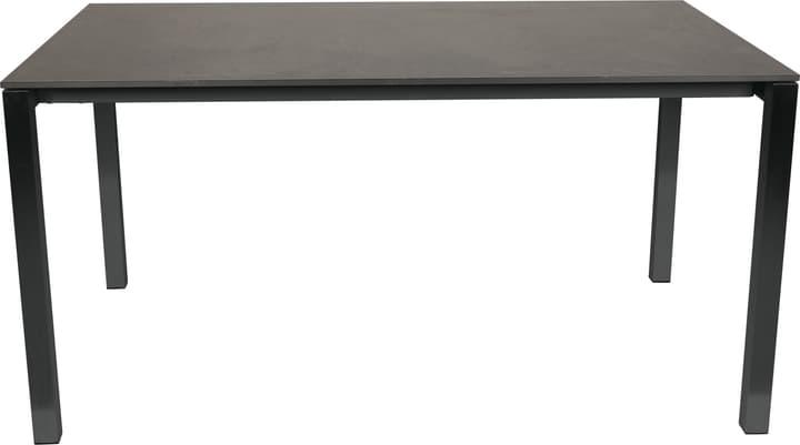 KANO, struttura antracite, piano HPL Tavolo 753194420083 Taglio L: 200.0 cm x L: 95.0 cm x A: 74.0 cm Colore Dark grey N. figura 1