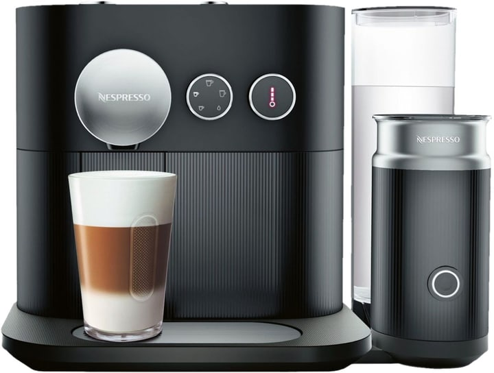 Expert & Milk Schwarz XN6018 Kapselmaschine Nespresso 717466900000 Bild Nr. 1