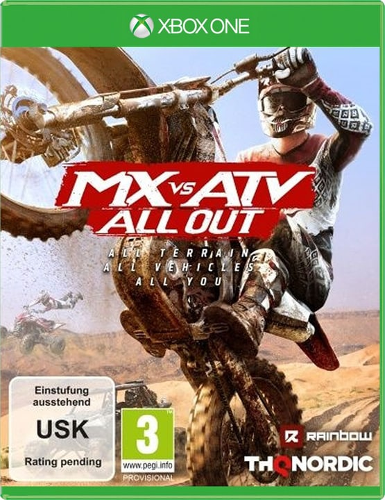 Xbox One - MX vs. ATV All Out D Physique (Box) 785300132001 Photo no. 1