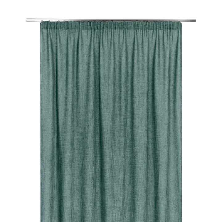 EPSON Rideau opaque prêt à poser 372095122063 Dimensions L: 150.0 cm x H: 270.0 cm Couleur Vert foncé Photo no. 1
