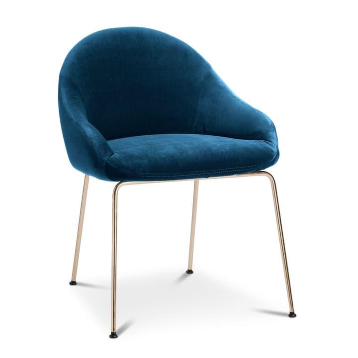 EARL Chaise 366024292505 Dimensions L: 58.0 cm x P: 65.0 cm x H: 76.0 cm Couleur Bleu Photo no. 1