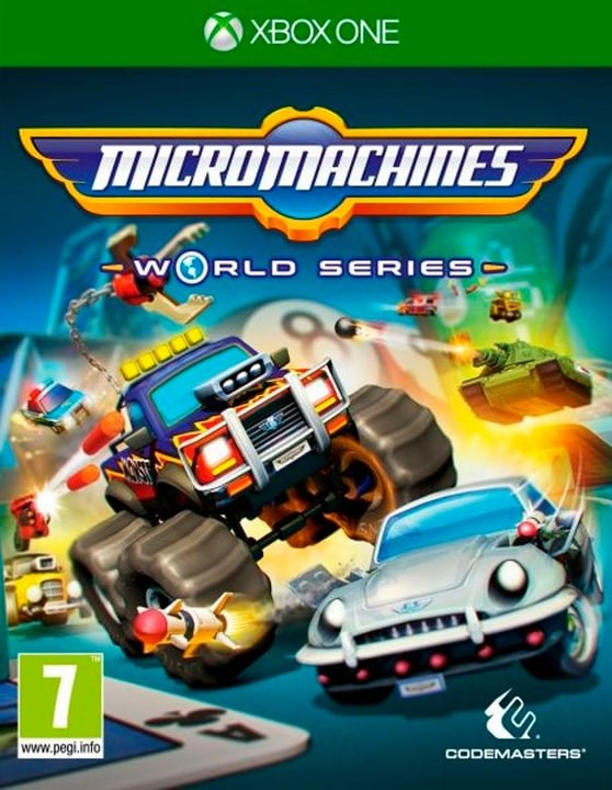 Xbox One - Micro Machines World Series Box 785300122318 Photo no. 1