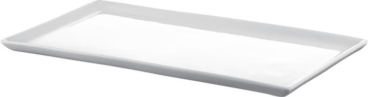 ESTELLE Piatto di portata 440228302510 Colore Bianco Dimensioni L: 25.0 cm x P: 14.0 cm x A: 1.0 cm N. figura 1