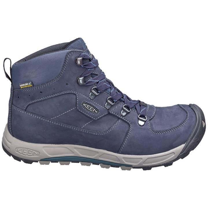 Westward Mid Leather WP Chaussures de randonnée pour homme Keen 465505340540 Couleur bleu Taille 40.5 Photo no. 1