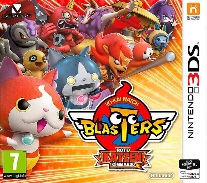 3DS - Yo-Kai Watch Blasters - Rote Katzen Kommando (D) Physisch (Box) 785300137882 Bild Nr. 1