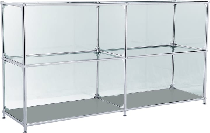 FLEXCUBE Sideboard 401814220280 Grösse B: 152.0 cm x T: 40.0 cm x H: 80.5 cm Farbe Grau Bild Nr. 1