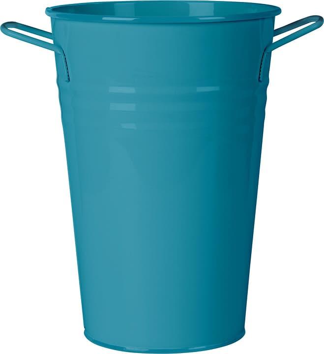 Contenitore con manico in metallo 631326200000 Taglio B: 21.0 cm x T: 15.0 cm x H: 30.0 cm Colore Blu N. figura 1
