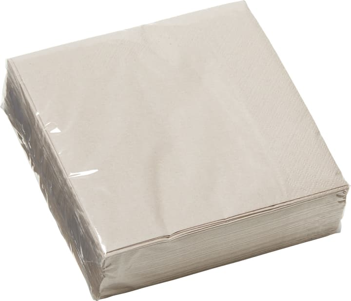 PAPER Tovaglioli di carta 440286703388 Colore Talpa Dimensioni L: 33.0 cm x P: 33.0 cm N. figura 1