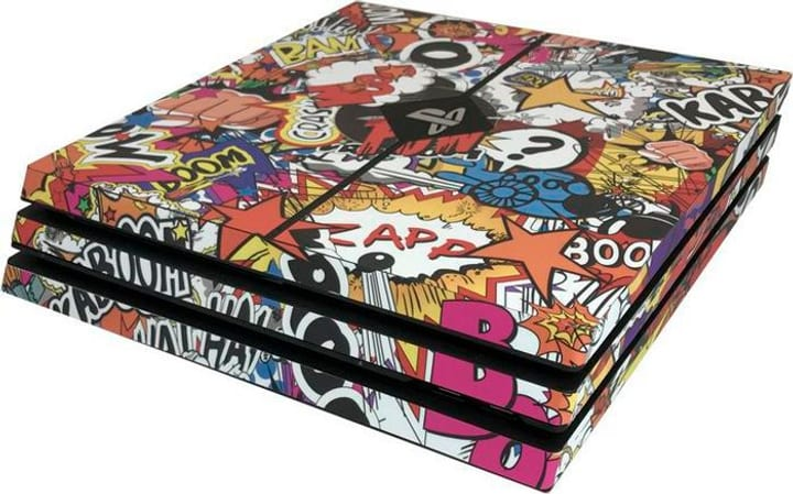 PRO - Stickerbomb Color PS4 Epic Skin 785300129328