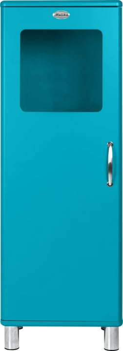 MALIBU Commode 407020500000 Dimensions L: 50.0 cm x P: 41.0 cm x H: 143.0 cm Couleur Bleu marine Photo no. 1