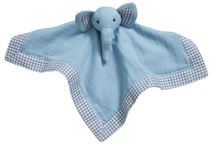 LENNY Doudou câlin en tissue 451268616940 Couleur Bleu Dimensions L: 25.0 cm x P: 25.0 cm x H:  Photo no. 1
