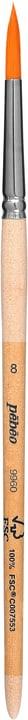 Brosse ronde nickel Nr. 2 Pebeo 663521400000 Motif Nr. 8 Photo no. 1