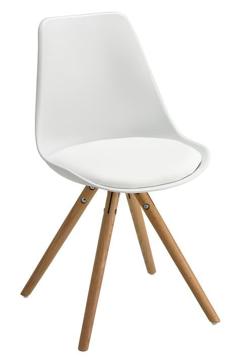 TOTTI Chaise 402347200010 Dimensions L: 48.5 cm x P: 50.5 cm x H: 86.0 cm Couleur Blanc Photo no. 1