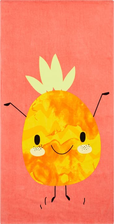 ANANAS Strandtuch 404734000031 Farbe Orange Grösse B: 75.0 cm x H: 150.0 cm Bild Nr. 1