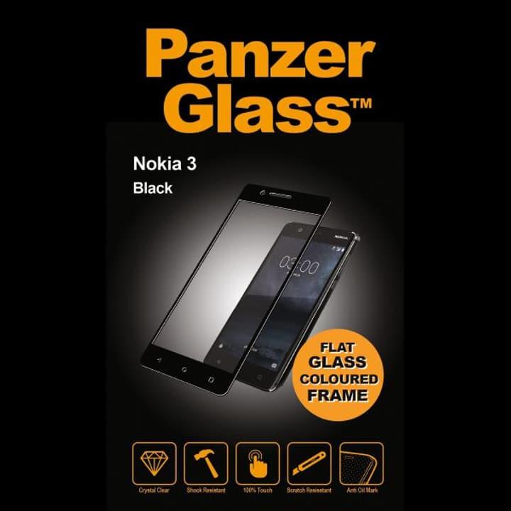 anzerGlass for Nokia 3 black Pellicola prottetiva Panzerglass 798099300000 N. figura 1