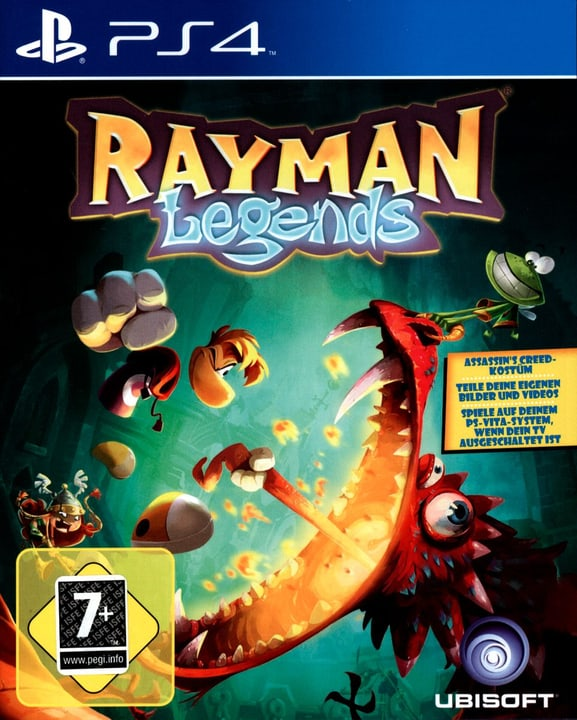 PS4 - Rayman Legends Fisico (Box) 785300121575 N. figura 1