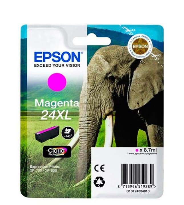 24XL Claria Photo HD Ink cartouche d'encre magenta Epson 785300124962