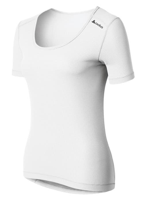 Cubic Maillot à manches courtes pour femme Odlo 477058200210 Couleur blanc Taille XS Photo no. 1