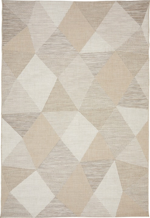 ALFONS Tapis 412009012074 Couleur beige Dimensions L: 115.0 cm x P: 170.0 cm Photo no. 1