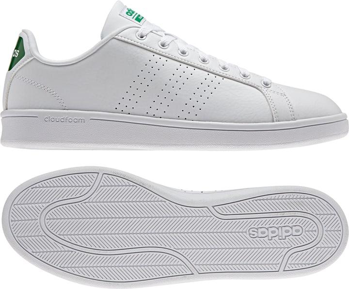 Cloudfoam Advantage Chaussures de loisirs pour homme Adidas 462021841010 Couleur blanc Taille 41 Photo no. 1