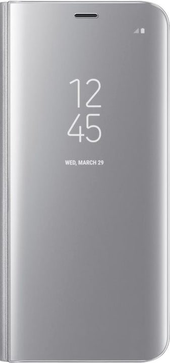Clear View Standing Cover S8+ argento Samsung 798080700000 N. figura 1