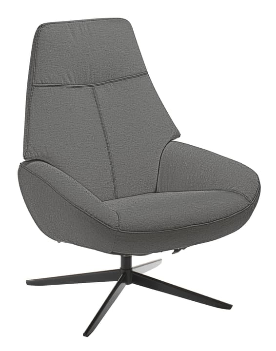 ARNOLD Fauteuil 402453907080 Dimensions L: 78.0 cm x P: 89.0 cm x H: 97.0 cm Couleur Gris Photo no. 1