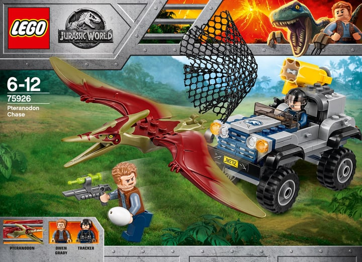 Lego Jurassic World Inseguimento dello Pteranodonte 75926 748879100000 N. figura 1