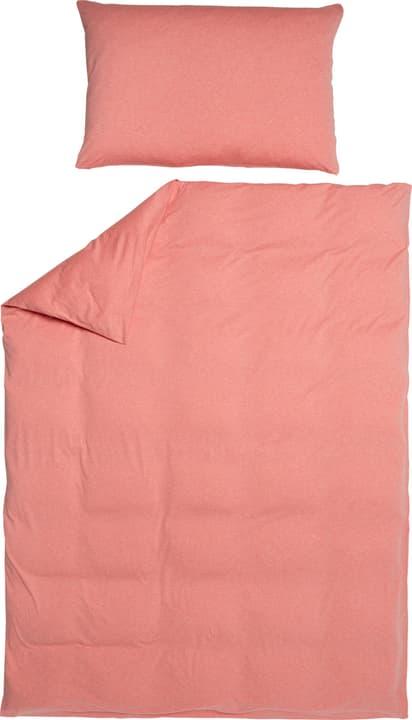 AMBROSIO Garnitura da letto jersey 451276014429 Colore Albicocca Dimensioni L: 160.0 cm x A: 210.0 cm N. figura 1