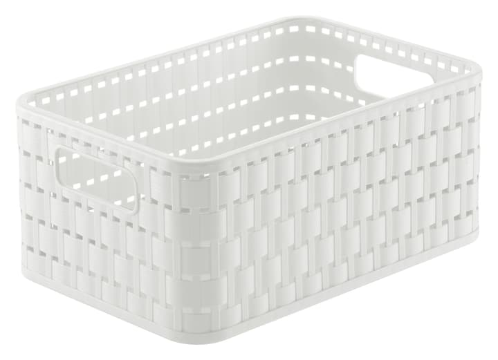 Korb A6+ Country Rotho 675142100000 Farbe Weiss Bild Nr. 1