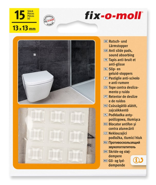 Patins Anti-Gliss & Bruit Fix-O-Moll 607082700000 Photo no. 1