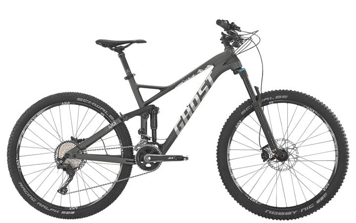 "SLAMR 4 27.5"" VTT all mountain Ghost 490186504680 Tailles du cadre 46 Couleur gris Photo no. 1"