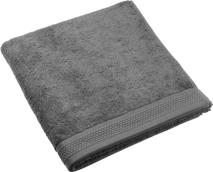NATURAL FEELING Asciugamano da bagno 450873120684 Colore Antracite Dimensioni L: 100.0 cm x A: 150.0 cm N. figura 1