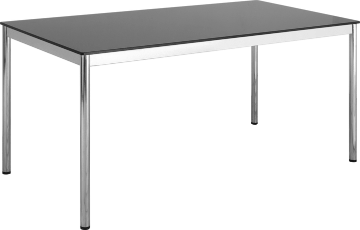 FLEXCUBE Bureau 401835200000 Dimensions L: 180.0 cm x P: 80.0 cm x H: 75.0 cm Couleur Verre noir Photo no. 1
