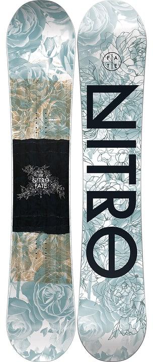 Fate inkl. Cosmic Snowboard da donna Nitro 494547014720 Colore nero Lunghezza 147 N. figura 1