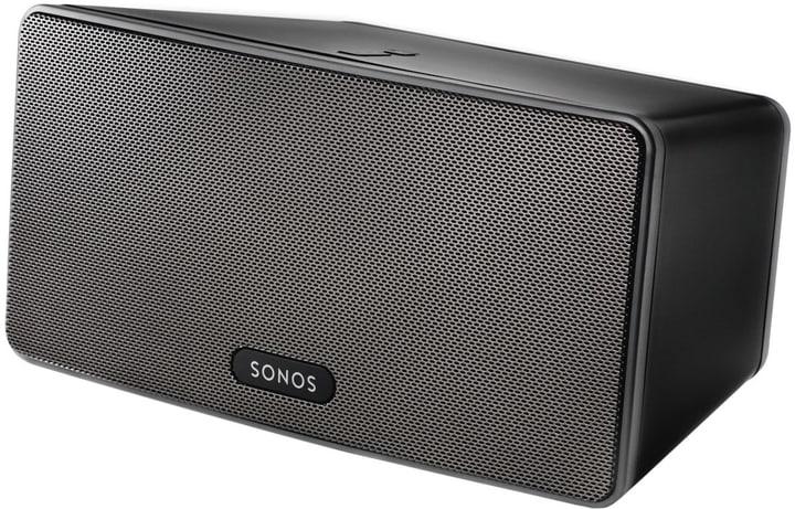 Play 3 noir haut-parleuer wireless Sonos 770517500000 Photo no. 1