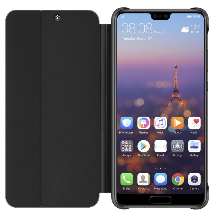 Smart View Flip Cover Schwarz P20 Smart View Flip Cover Schwarz P20 Huawei 785300135610 Bild Nr. 1