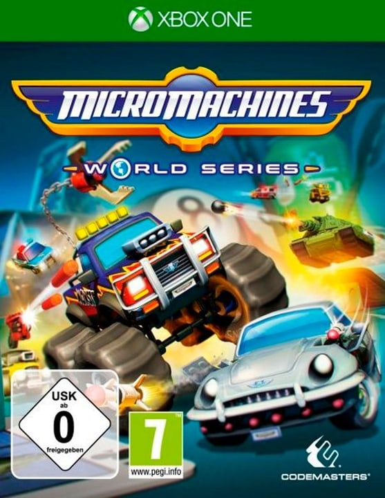 Xbox One - Micro Machines World Series Box 785300122323 Photo no. 1