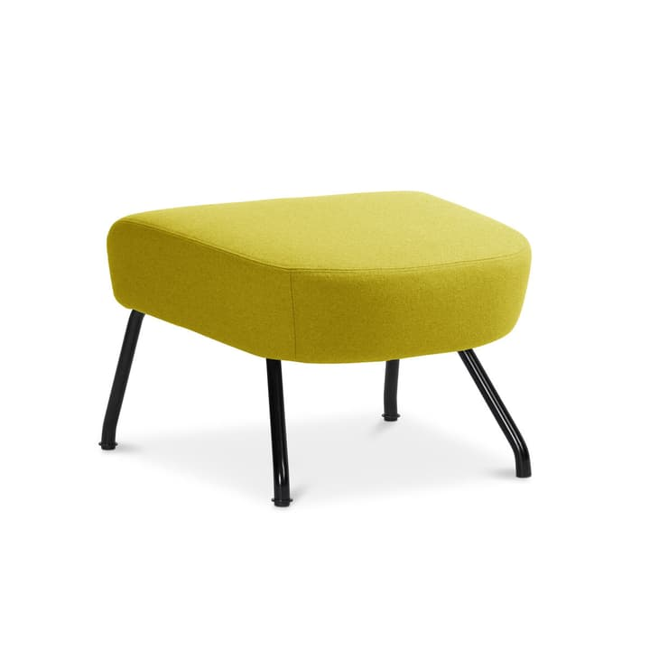 SENADO Hocker 360021496530 Grösse B: 58.0 cm x T: 48.0 cm x H: 40.0 cm Farbe Gelb Bild Nr. 1