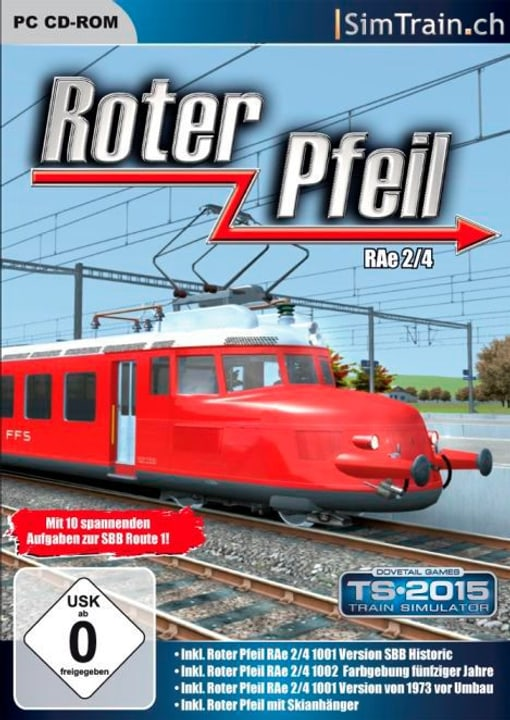PC - Roter Pfeil RAe 2/4 (Add-On) 785300129581 Photo no. 1