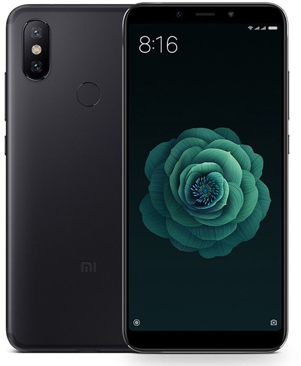 Mi A2 Dual SIM 64GB noir Smartphone xiaomi 785300138753 Photo no. 1