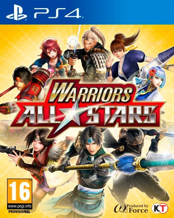 PS4 - Warriors All Stars Fisico (Box) 785300122614 N. figura 1