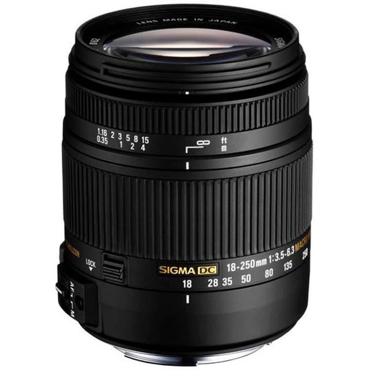 18-250mm/3,5-6,3 DC MACR OS HSM für Canon obiettivo Sigma 785300126185 N. figura 1