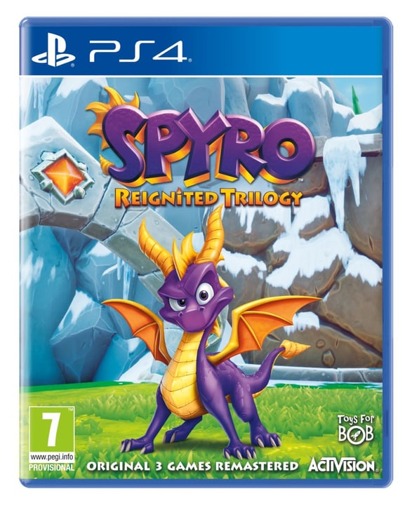 PS4 - Spyro Reignited Trilogy Box 785300134986 Sprache Französisch Plattform Sony PlayStation 4 Bild Nr. 1