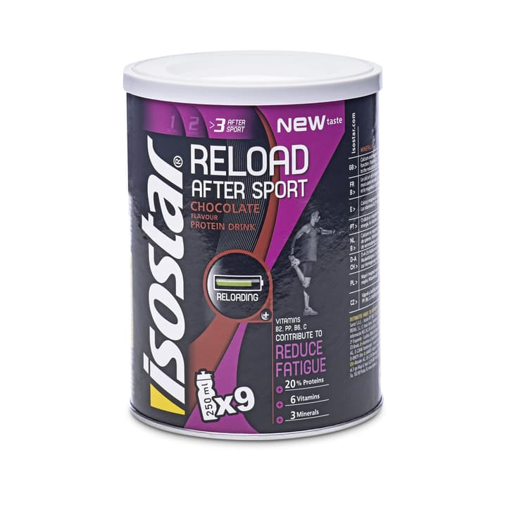 After Sport Reload Pudre 450g Isostar 471956200000 Photo no. 1