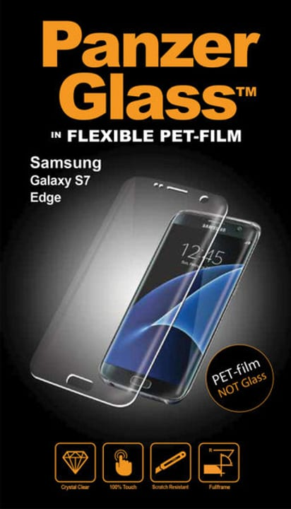 PET Samsung Galaxy S7 Edge Smartphone Zubehör Panzerglass 785300134503 N. figura 1