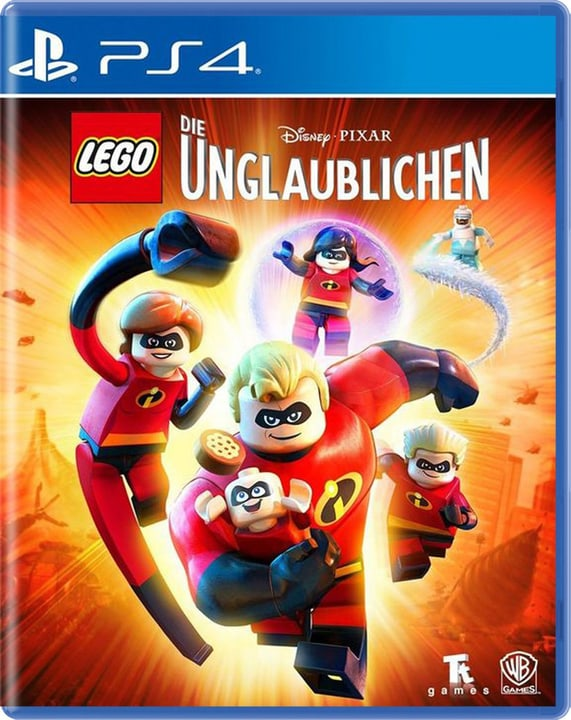PS4 - LEGO Les Indestructibles Physique (Box) 785300134638 Langue Allemand, Français Plate-forme Sony PlayStation 4 Photo no. 1