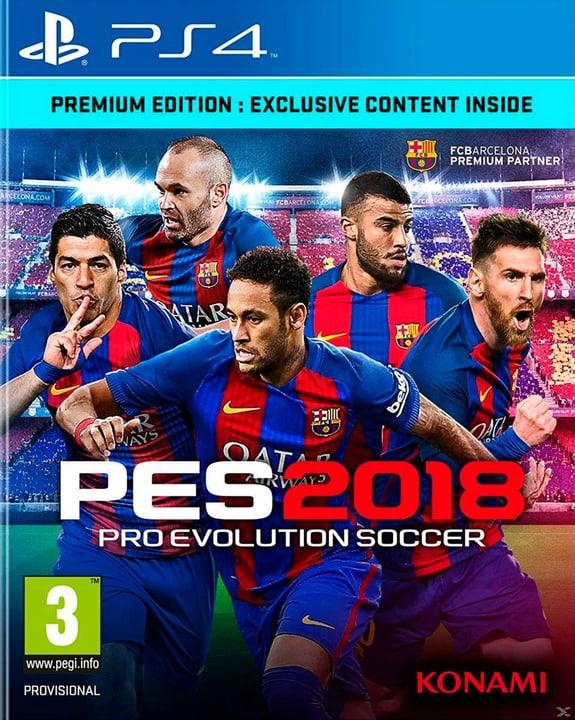 PS4 - PES 2018 - Pro Evolution Soccer 2018 Premium Ed. Physisch (Box) 785300122647 Bild Nr. 1