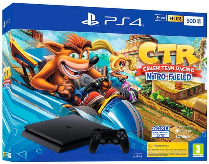 PlayStation 4 500Go Jet Black - Crash Team Racing Console Sony 785443100000 Photo no. 1