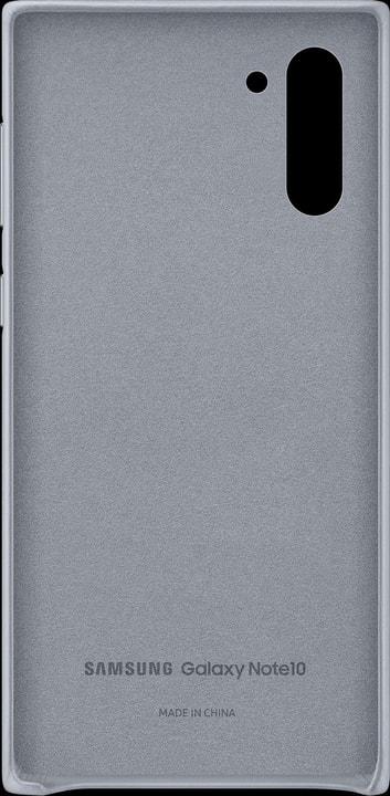 Leather Cover gray Coque Samsung 785300146393 Photo no. 1